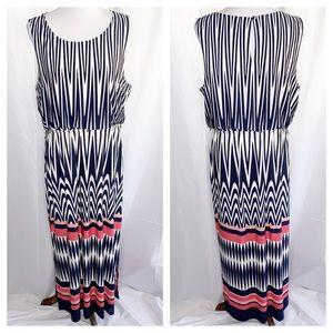 Christopher & Banks Sleeveless Maxi Dress, Size XL